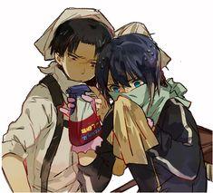 both of them are cute! Noragami x Shingeki no Kyojin