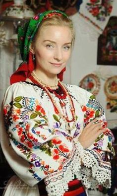 Romanian costume from Bistrita