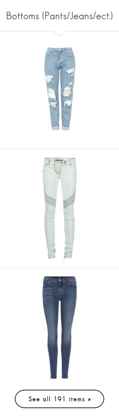 """Bottoms (Pants/Jeans/ect.)"" by neonlynxie ❤ liked on Polyvore featuring jeans, pants, bottoms, calças, pantalones, bleach, bleached ripped skinny jeans, torn jeans, destroyed skinny jeans and destructed skinny jeans"