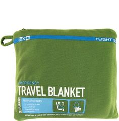 Travel Emergency Blanket by Flight This ultra-soft, lightweight blanket comes in a zip pouch that doubles as a pillowcase when blanket is not in use. Us Airways, Travel Supplies, Flight Attendant Life, Pack Your Bags, Christmas Gift Guide, Packing Tips, Vacation Trips, Vacations, Travel Accessories