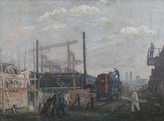 Bernhard Kretzschmar - Neubau des werk 7 Eisenhüttenstadt