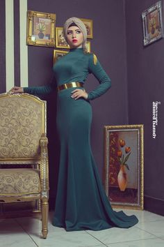 Soiree hijab dresses by 27dresses see collection http://www.justtrendygirls.com/soiree-hijab-dresses-by-27dresses/
