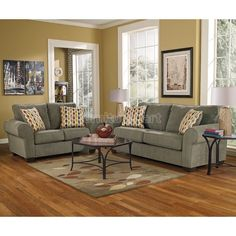 Deandre Gray Living Room Set