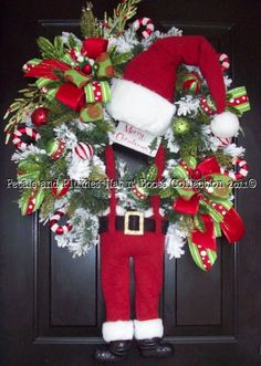Workshop Santa Christmas Wreath-Hat n' Boots Collection©2010
