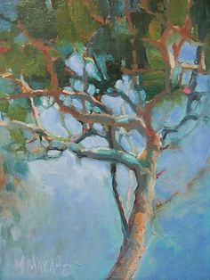 """Tha Places In-Between by Mary Maxam Oil ~ 8"""" x 6"""""""