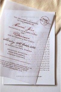 Печатаем текст на кальке