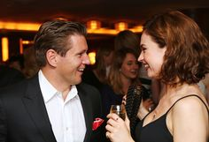 Allen ad Lily | The Downton Abbey Wrap Party At The Ivy (Aug. 15, 2015)..