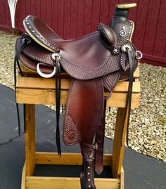 Cascade Wade Saddle By Allegany Mountain Trail Saddles! www.trailridingsaddles.com #trailsaddle #wadesaddle #customsaddle