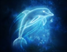My patronus would most likely be a dolphin:)