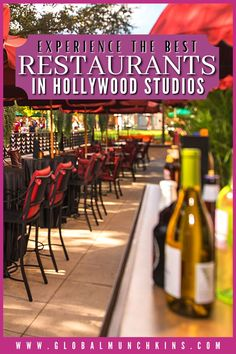 """Since Disney's Hollywood Studios opened (originally under the name """"MGM Studios"""") at Walt Disney World in 1989, it has been bringing Tinseltown magic to central Florida. The dining options in this park certainly don't disappoint, with a variety of choices for families on every budget. We've got a breakdown of the best Hollywood Studios restaurants. Disney Vacations, Disney Trips, Disney Travel, Hollywood Studios Restaurants, California Cool, California Travel, Dine In Theater, Original Disneyland, Visit Los Angeles"""