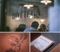 La Bottega – Cucina Italiana – restaurant identity design by kidstudio.