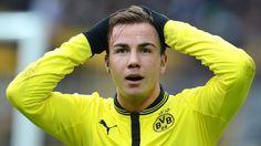 Mario Götze actually playing for the BVB