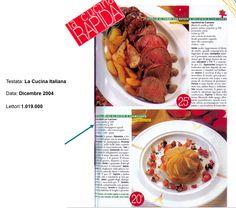 """Sfogliatine di Patate e Champignon - """"La Cucina Italiana"""" Novembre 2004"""