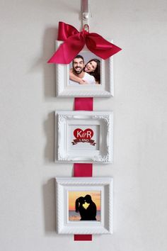 Anniversary Dates, Hanging Photos, Valentines Diy, Christmas And New Year, Creative Gifts, Boyfriend Gifts, Diy Gifts, Art For Kids, Diy And Crafts