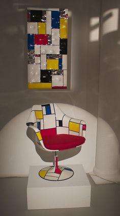 "Fauteuil Saarinen ""ton drian"" + ondulation http://www.schiepan.com"