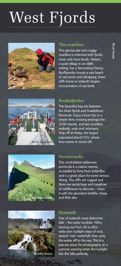 Highlights of Iceland's West Fjords - discover more in our new Iceland & Greenland brochure: http://view.intellimag.com/go/dtw-iceland-greenland/