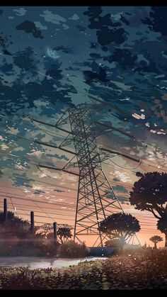 Anime/Scenic wallpaper id: 498789 - mobile abyss Anime Scenery Wallpaper, Landscape Wallpaper, Cool Wallpaper, Wallpaper Backgrounds, Wallpaper Ideas, Fantasy Landscape, Landscape Art, Animes Wallpapers, Phone Wallpapers