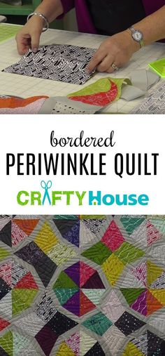 The Bordered Periwinkle Quilt - Grab Your Layer Cakes, We're About to Make This Gorgeous Quilt!