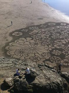 Elaborate Sand-Written Proposal