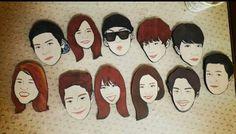 Roommate family  #sbsroommate #roommates2 #gukjoo #nana #youngji #jongok #sunny #seho #dongwook #minwoo #ryohei #joonhyung #kangjoon #jackson