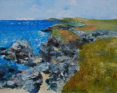 North Cornwall Coast 2, Painting by Brian Hanson | Artfinder