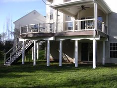 Trex Deck with Roof
