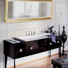 картинка Композиция №2 Elysee Collection комплект мебели для ванной комнаты Burgbad магазин Среда-обитания являющийся официальным дистрибьютором в России Vanity Units, Double Vanity, Bathroom, Washroom, Full Bath, Bath, Bathrooms, Double Sink Vanity