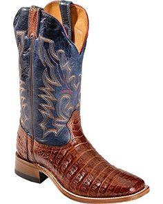 Boulet Men's Caiman Belly Cowboy Boot Square Toe  http://www.thecheapshoes.com/boulet-mens-caiman-belly-cowboy-boot-square-toe/
