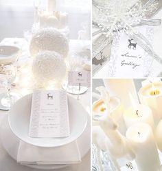 Elegant Winter Wonderland Table