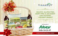Healthy Gluten Free, Dairy Free & Decadent Low Glycemic Coconut Basket