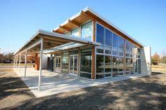 Environmental Education Center, #LEED Platinum, Plano, Texas by @GGOArchitectsUS