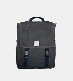 Charcoal Classic Canvas Backpack by ESPEROS on Scoutmob Shoppe