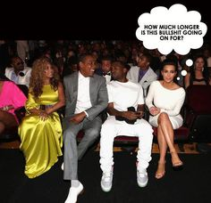 Top 5 Signs Kim Kardashian Doesn't Fit In With Kanye West, Jay-Z & Beyonce