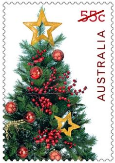 Australia Celebrates Christmas with Themed Postage Stamps