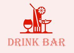 Пивной Бар логотип, Drink Bar logo