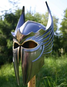 The Polyurethane Dragon Helm