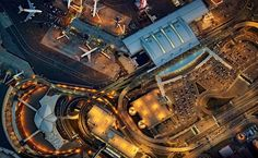 Image 6 of 13 from gallery of Seen From Above: Jeffrey Milstein Captures the Art of Airport Design. Photograph by Jeffrey Milstein Newark Liberty International Airport, Airport Design, New York Photographers, Cruise Travel, Air Show, Travel Images, Aerial Photography, Jfk, New Image