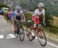 Vuelta a Espana 2014 stage 16 gallery - Joaquim Rodriguez and Alejandro Valverde, Vuelta a Espana 2014 stage 16