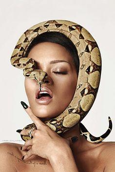 "Rihanna for ""GQ"" magazine. (December 2013)"