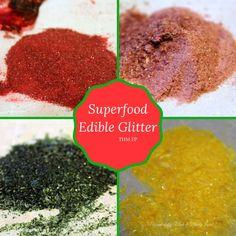 Superfood Edible Glitter {THM FP, Sugar Free}