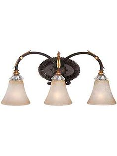 Bella Cristallo 3-Light Bath Sconce | House of Antique Hardware