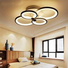 Led Ceiling Light Fixtures, Crystal Ceiling Light, Modern Led Ceiling Lights, Led Ceiling Lamp, Dimmable Led Lights, Home Ceiling, Modern Lighting, Acrylic Chandelier, Led Chandelier