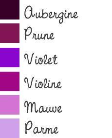 Maquillage des yeux marron : tons violets