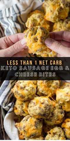 Sausage Egg and Cheese Bites (low carb + KETO) - Maebells Keto. - Sausage Egg and Cheese Bites (low carb + KETO) – Maebells Keto sausage, egg and - Diet Recipes, Cooking Recipes, Recipes Dinner, Cooking Bacon, Easy Low Carb Recipes, Smoothie Recipes, Party Recipes, Healthy Egg Recipes, Recipies
