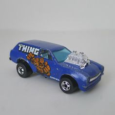 Vintage Hot Wheels Toy Car, 1970s Poison Pinto, The THING.