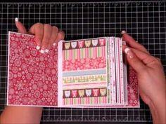 Christmas 2012 Envelope Mini, unfinished - YouTube