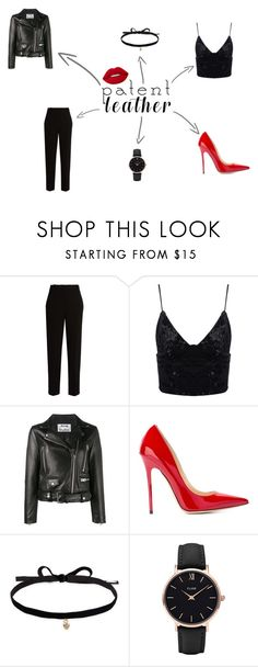 """red lips"" by camomile-x on Polyvore featuring мода, The Row, Acne Studios, Jimmy Choo, Joomi Lim и CLUSE"