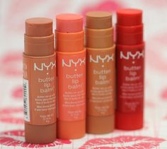 NYX Cosmetics Butter Lip Balms