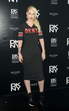 Iggy Azalea - Rita Ora Attends the DKNY Artworks Launch