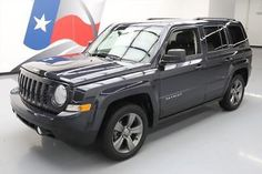 eBay: 2014 Jeep Patriot 2014 JEEP PATRIOT HIGH ALTITUDE SUNROOF HTD LEATHER 36K #888823 Texas Direct #jeep #jeeplife